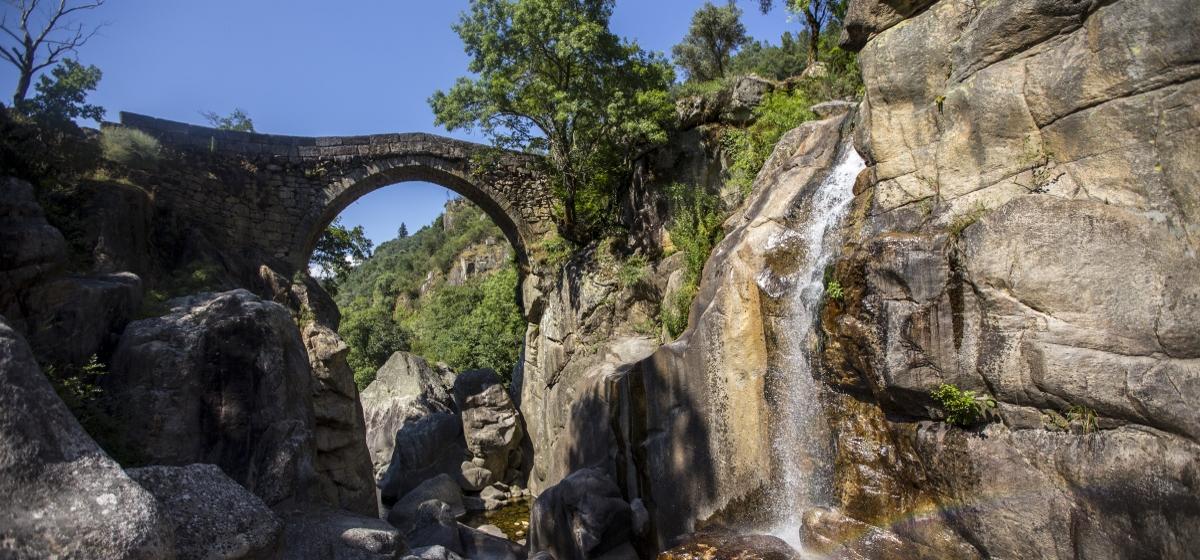 imagem ponte da misarela - montalegre