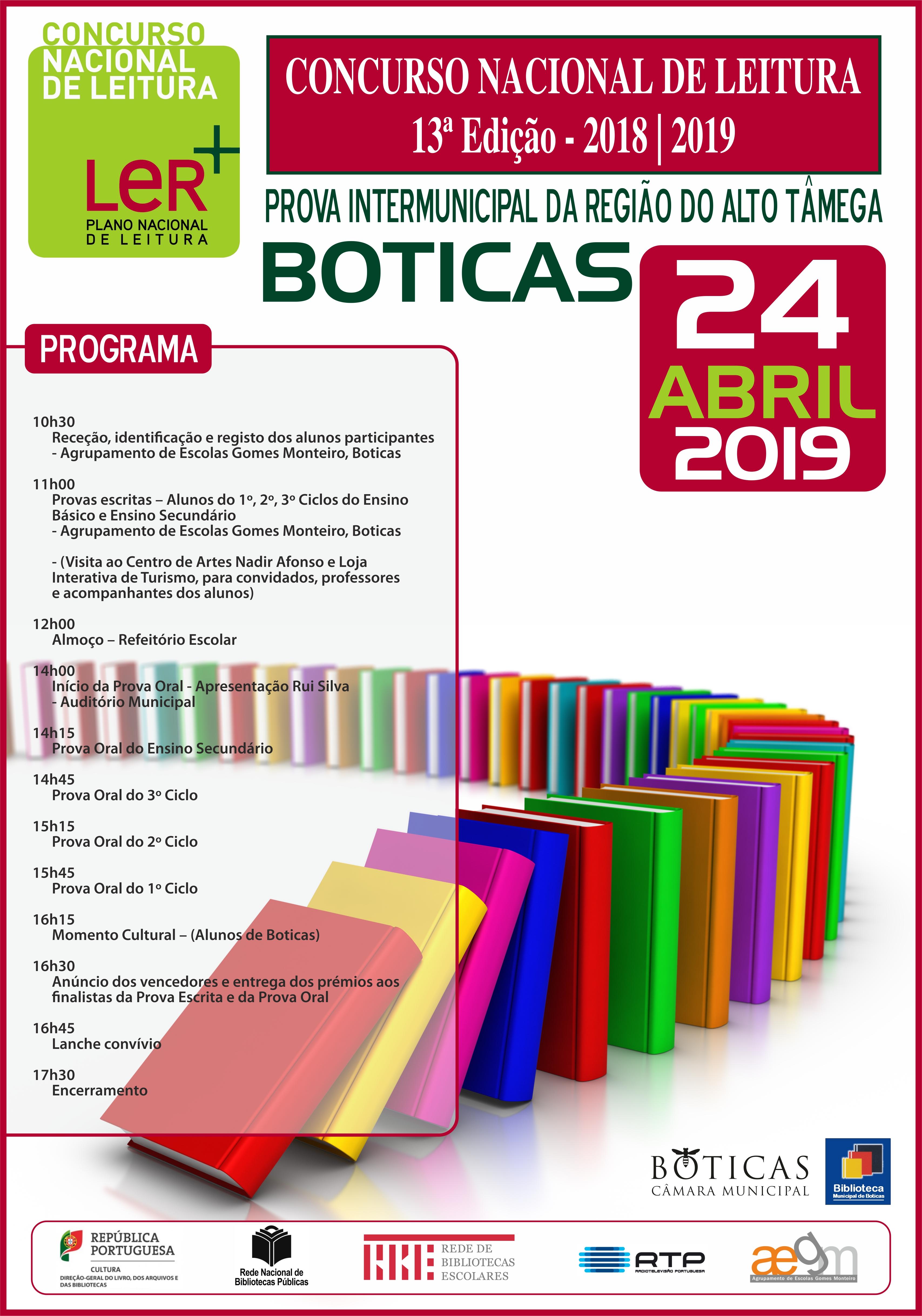 Concurso Nacional de Leitura Cartaz 2019