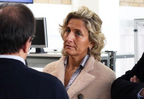 ministra da Coesão Territorial, Ana Abrunhosa,